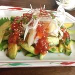 韓料理夢回廊 - ツブ貝のフェ