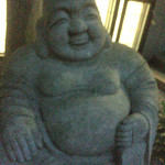 韓料理夢回廊 - 謎の石像 恵比寿さん?