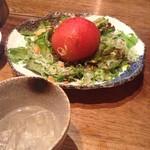 54188631 - 丸ごとトマトのサラダ