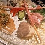 LOTUS - 本日の前菜の6種盛合せ