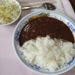 カフェ&レストラン アルプスホルン - キッチン飛騨のビーフカレー