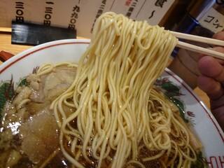 中華そば ふじい 難波千日前店 - 麺リフト