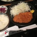 54192201 - とんかつ定食(ご飯大盛) 720円
