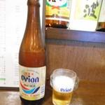 居酒屋すな川 - オリオン 瓶ビール