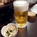 居酒屋とんぼ - 生ビール(80円!)