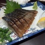 居酒屋とんぼ - 炙りシメサバ(480円)