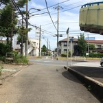 ひまわり食堂 - 旧鎌倉街道。