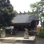 ひまわり食堂 - 稲荷神社。