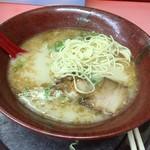 博多ラーメン天外天 - 2016年07月29日  麺出し