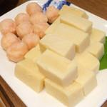 小肥羊 - 海老団子と凍らせ豆腐
