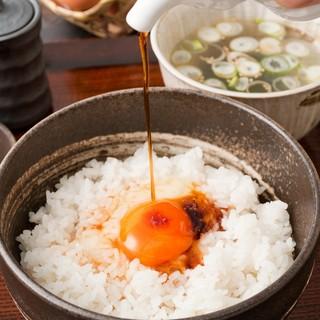 卵本来の美味しさを追求した素朴で美味しい卵かけ丼は絶品です