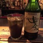 ジョーガイ - 2杯目は緑茶系ウーロンハイ