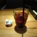 マルノウチ カフェ × ワイアードカフェ - アイスコーヒー