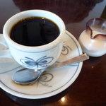 珈琲屋 柚子木庵 - ランチセットのコーヒー