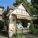 平泉寺のソフトクリーム屋さん -