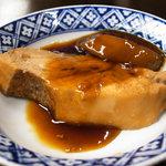 磯料理 喜良久亭 - メカジキの煮付け