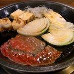 浅草今半 - すき焼き定食
