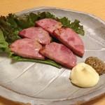 nagoyasaiseisakabamitsuemon - 明宝ハム炙り焼き680円
