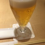 吉祥 - 今日は小グラス生ビール