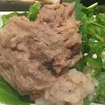 吉祥 - お肉は柔らかく美味しいです。