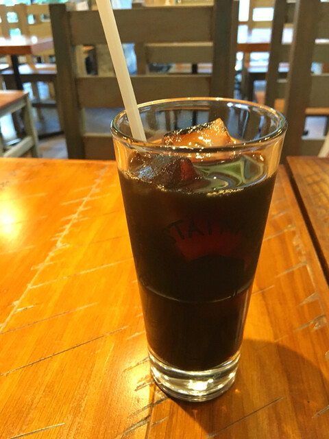 BAREBURGER 自由が丘店 - アイスコーヒー
