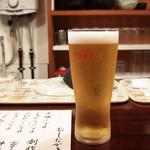 おでん 盛 - 生ビール 2016.7