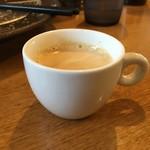 54203556 - サービスのコーヒー(エスプレッソ)