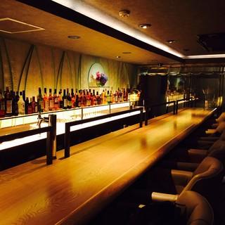 ディナーにも、Bar使いにも最適です♪ノーチャージ!