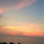 キングタコス - 食後はトロピカルビーチでまったり。