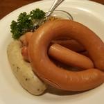 アサヒ クラフトマンシップブルワリー 東京 - ソーセージの盛り合わせ