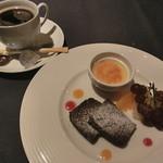 ソージュ - デザート&食後のコーヒー