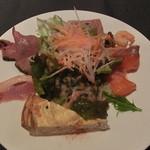 ソージュ - 前菜の盛り合わせ