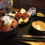 居酒屋あかつき - 料理写真:食事セット