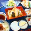 居食屋 寿 - 料理写真:天ぷら膳 並 1,500円/上 2,000円