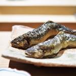 いち太 - 熊本 川辺川の鮎塩焼き