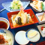 寿hisa - 料理写真:天ぷら膳 並 1,500円/上 2,000円