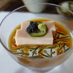 侘助 - トマト豆腐