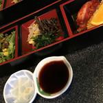 六歌仙 - 小鉢3種