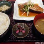 54212687 - 金目鯛の煮付定食