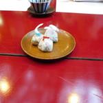 54217181 - 食膳のお菓子