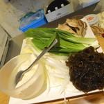 美らしゃぶ亭 - 野菜やらもずく、豆腐