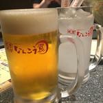 なんこう園 - 生ビール、カルピスサワー