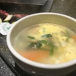 なんこう園 - 卵スープ
