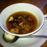 かすみ草 - 料理写真:きのこのスープ