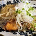 鮮魚と日本酒 郷味 - 秋鮭のきのこあんかけ