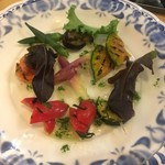 レ プリムール - 夏野菜のグリル冷マリネ580円