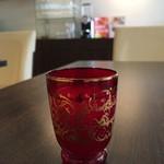 ビストロ ル・セール - aperitifはノンアルコールの桃のジュース