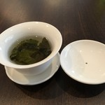 ビストロ ル・セール - ドリンクは、桂花烏龍茶(キンモクセイ)