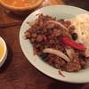 ルクラヒマラヤ - 料理写真:ガパオライスセット