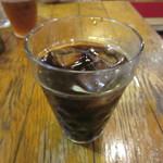 武州うどんあかねandみどりダイニング - 相方のアイスコーヒー 0円